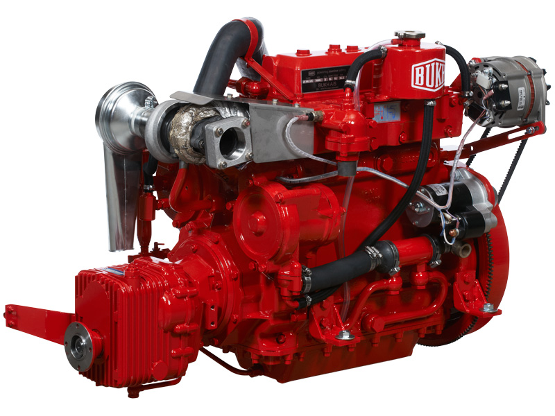 Bukh motor priser