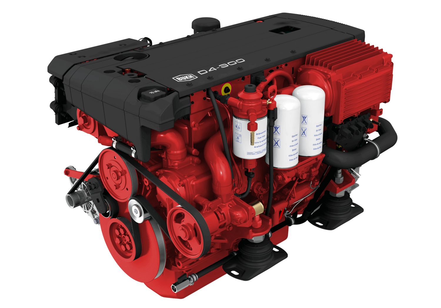 BUKH 75-500HP FAST RESCUE BOATS